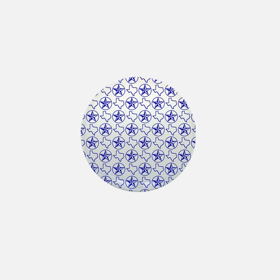 Texas Star Mini Button