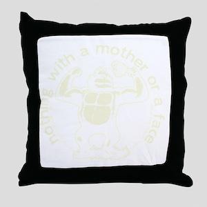 Brand shoulder logo Throw Pillow