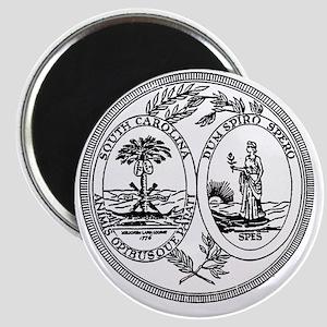 South Carolina State Seal Magnet