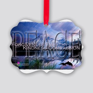 CE - Peace Picture Ornament