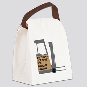 Forklift Secondary Job Code 2 Canvas Lunch Bag