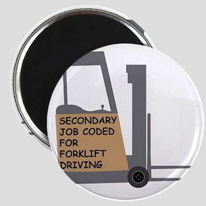 Forklift Secondary Job Code 2 Magnet