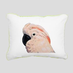 Cockatoos Rectangular Canvas Pillow