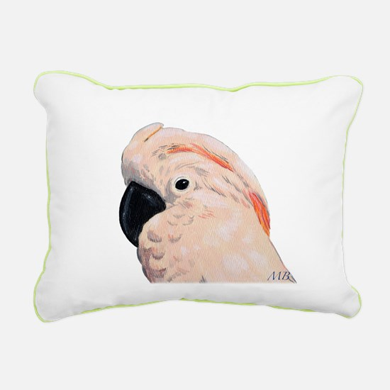 Cockatoos Rectangular Canvas Pillow