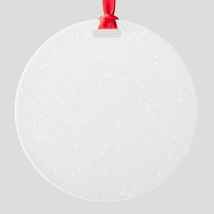 interrupt my sleep Round Ornament