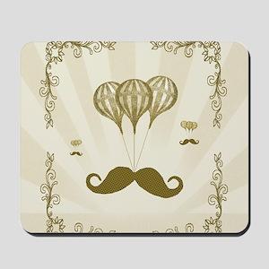 Balloon Moustache Mousepad