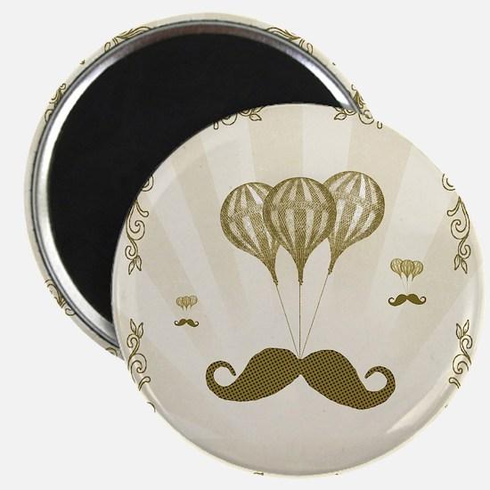 Balloon Moustache Magnet