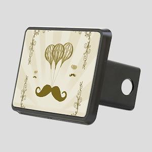 Balloon Moustache Rectangular Hitch Cover