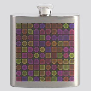 Neon Shower Curtain Flask