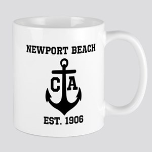 Newport Beach anchor design Mug