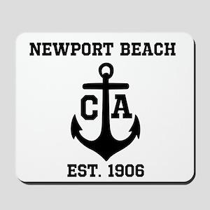 Newport Beach anchor design Mousepad