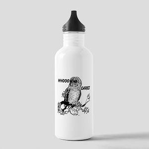 Whooo Cares Owl Water Bottle