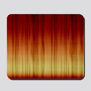 Flaming Red Shower Curtain Mousepad