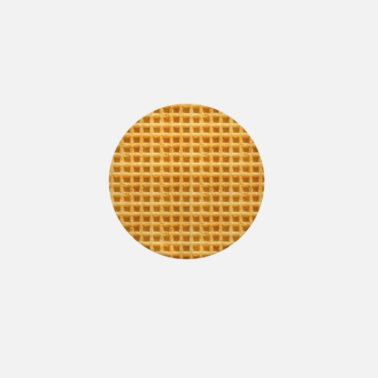 Yummy Giant Waffle Mini Button