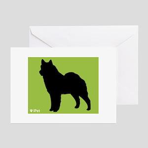 Lapphund iPet Greeting Cards (Pk of 10)
