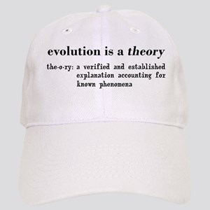 evolution is a theory Cap