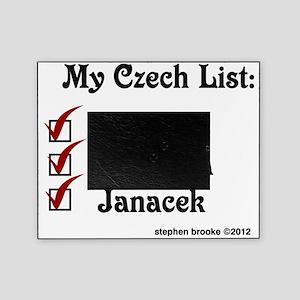 Czech List Picture Frame