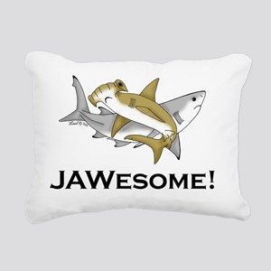 Jawesome Rectangular Canvas Pillow