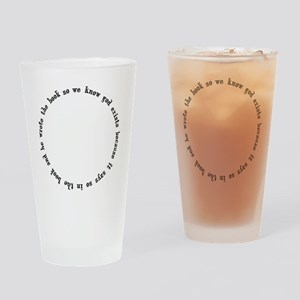god exists circular argument Drinking Glass