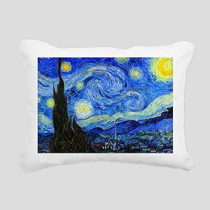 Van Gogh Rectangular Canvas Pillow