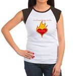 Archaeology Girls Are Dirty!  Women's Cap Sleeve T