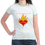 Archaeology Girls Are Dirty!  Jr. Ringer T-Shirt