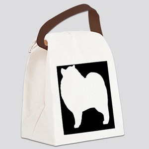 keeshondhitch Canvas Lunch Bag