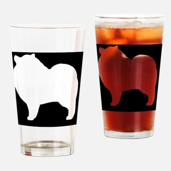 keeshondhitch Drinking Glass