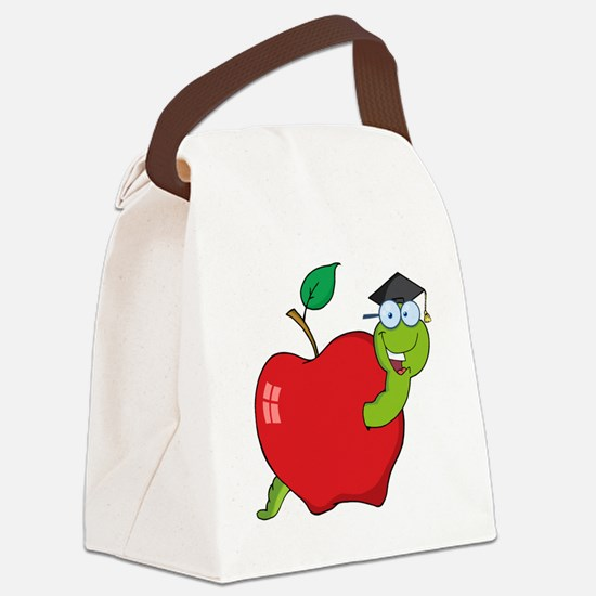 00155_Graduation Canvas Lunch Bag