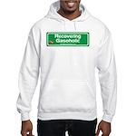 Recovering Gasoholic Hooded Sweatshirt