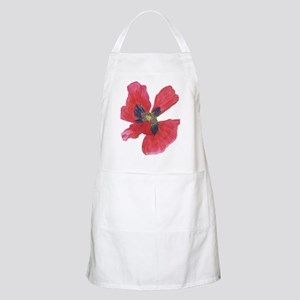 Red Poppy 2 Apron