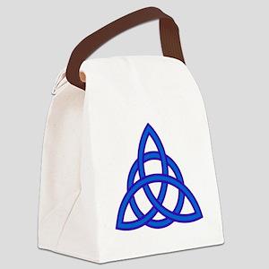 Triquetra Canvas Lunch Bag