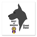 GreatDFawnTee Square Car Magnet 3