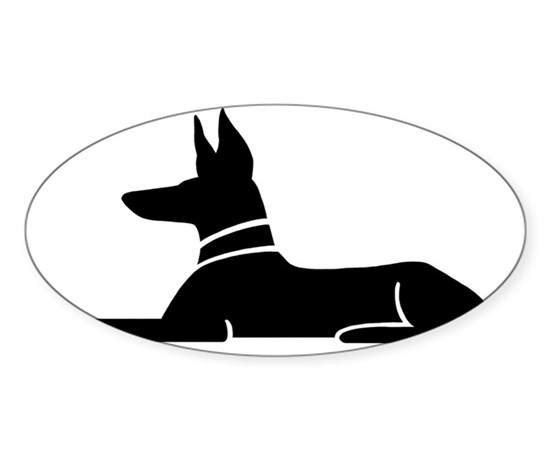 Pharoahbizblk sticker oval