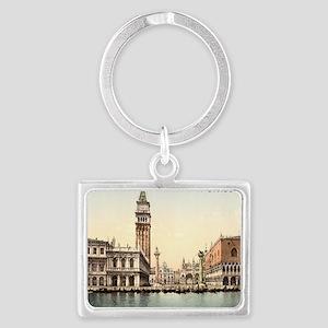 Vintage Venice Landscape Keychain