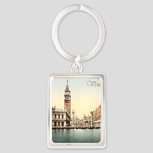 Vintage Venice Portrait Keychain