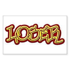 Loser Rectangle Sticker