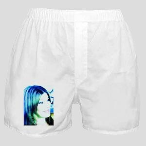 Corey Blue Boxer Shorts