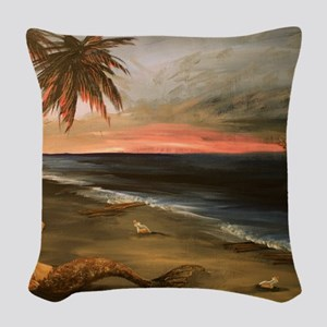 Lost and Found Woven Throw Pillow