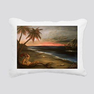 Lost and Found Rectangular Canvas Pillow