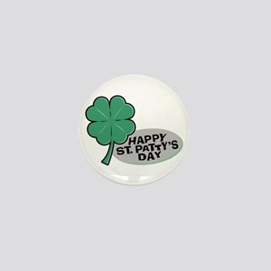 Shamrock - St. Paddy's Day Mini Button