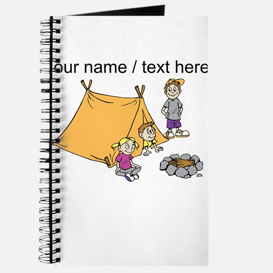 Custom Kids Camping Journal