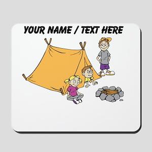 Custom Kids Camping Mousepad