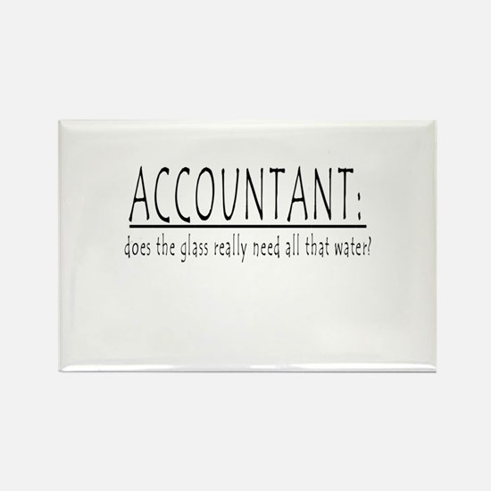 ACCOUNTANT Rectangle Magnet