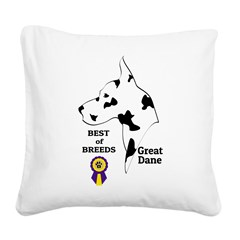 GreatDFawnTee Square Canvas Pillow