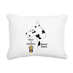 GreatDFawnTee Rectangular Canvas Pillow