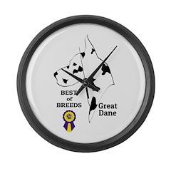 GreatDFawnTee Large Wall Clock