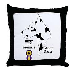 GreatDFawnTee Throw Pillow