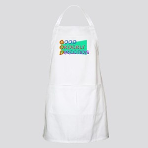 GOD Good Orderly Direction BBQ Apron