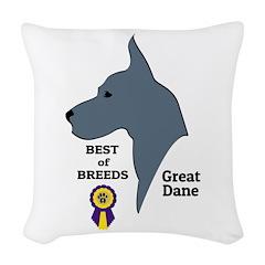 GreatDFawnTee Woven Throw Pillow